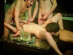Group Sex, Hairy, Nerd, Swinger, Vintage