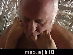 Blonde, Blowjob, Mature, Old and Young, Teen