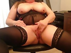 BBW, Masturbation, Mature, British