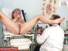 Blonde, Masturbation, Mature, Medical