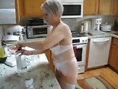 Mature, Lingerie, Mature, Wife