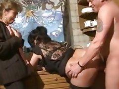 Amateur, BBW, Big Boobs, Group Sex, German