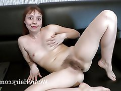 Hairy, Masturbation, Mature, Redhead