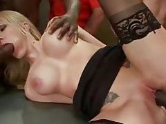 Amateur, Blonde, Double Penetration, Facial, Gangbang