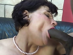 Interracial, Granny, Dildo, Big Ass