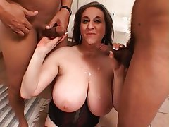 BBW, Big Boobs, Hairy, Interracial, MILF