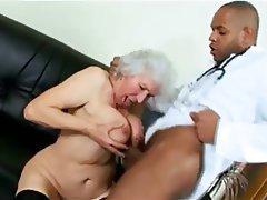 Granny, Interracial, Mature