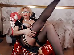 Granny, Mature, MILF, Webcam