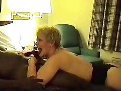 Blonde, Granny, Interracial, Mature, Small Tits