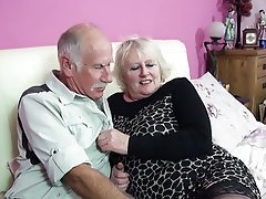 Blowjob, British, Granny, Mature, MILF