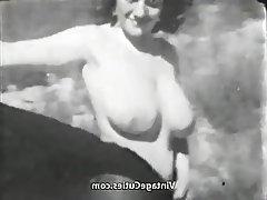 Big Boobs, Outdoor, Pornstar, Vintage