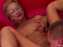 MILF, Granny, Mature, Creampie, Old and Young