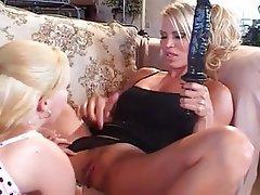 Big Boobs, Blonde, Lesbian, Mature