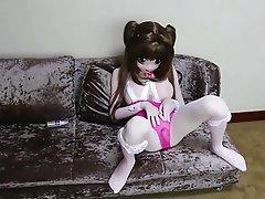 Cosplay, Japanese, Masturbation